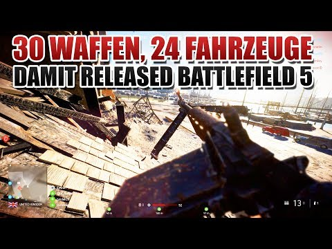 Damit released Battlefield V - Alle Waffen, Fahrzeuge und Gadgets thumbnail