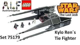 Lego Star Wars 75179 Kylo Ren´s TIE Fighter - Lego Speed Build Review