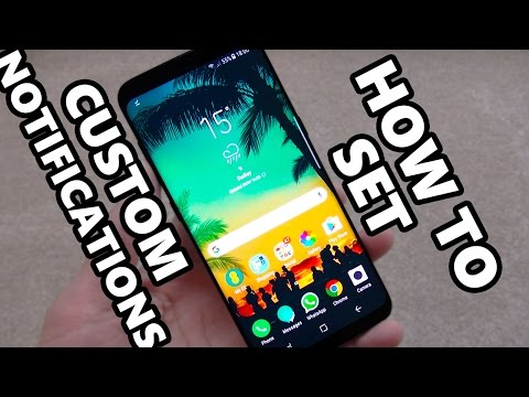 How to Set Custom Notification Ringtones on Samsung Galaxy S8 / S8+