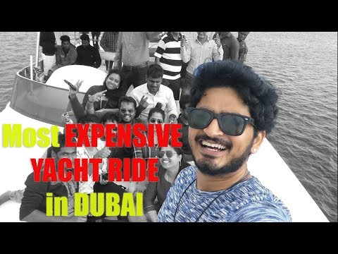 most EXPENSIVE YACHT RIDE in DUBAI after VAT !!!