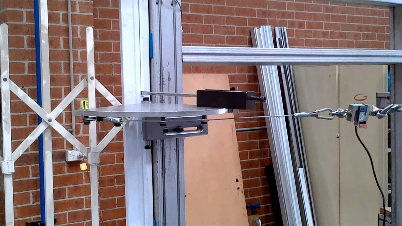 & Australian Trellis Door Co. Jig-Based Jemmy Test - YouTube