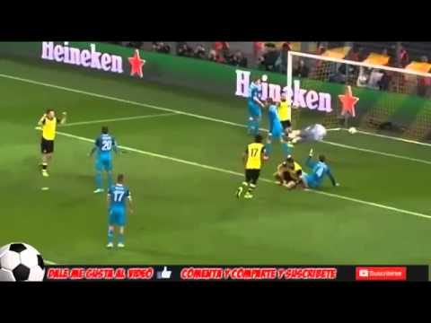 Borussia Dortmund 1 - 2 Zenit st Petersburg ~ All Goals & highlights UCL 19/03/2014