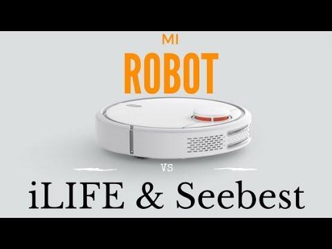 MI ROBOT - סקירה מלאה והשוואה לשואבי ILIFE ו SEEBEST