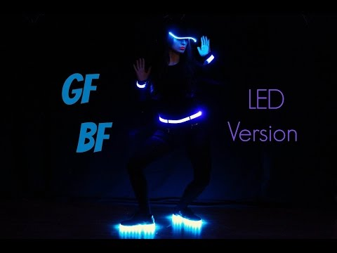 GF - BF Song ELIF KHAN Dance Choreography With Led Dress SLOW by ELIF KHAN FAN
