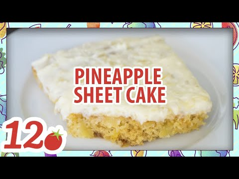 How To Make: Pineapple Sheet Cake