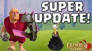SUPER UPDATE! || CLASH OF CLANS || Let