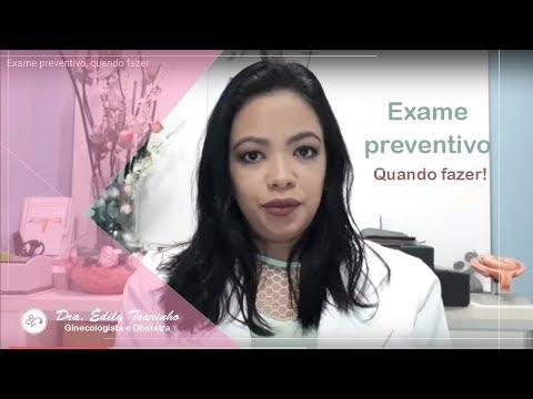Exame preventivo, quando fazer