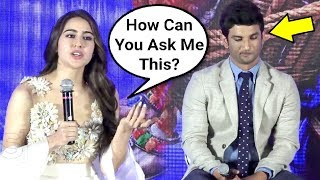 Sara Ali Khan Gets ANGRY On Reporter At Kedarnath Trailer Launch Event