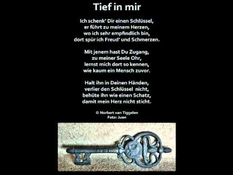 Gedicht Tief In Mir Nvt Youtube