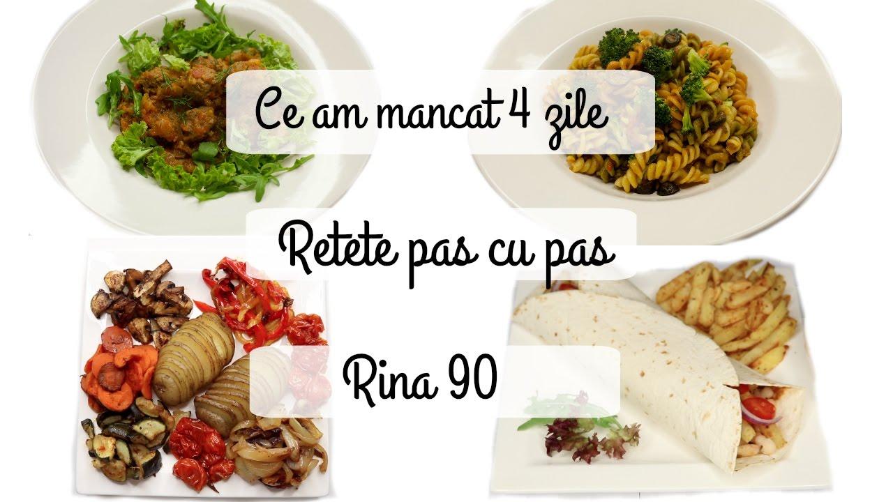 Dieta Rina Detaliata pe Zile: Rina 90 Tabel Meniu Zilnic, Retete, Principii