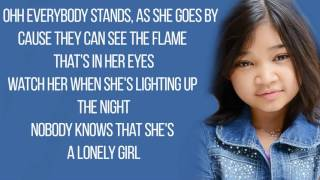 Angelica Hale - Girl On Fire (Alicia Keys) / Lyrics