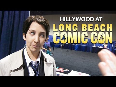 HILLYWOOD AT LONG BEACH COMIC CON!