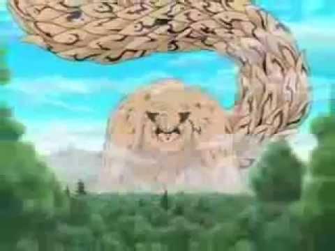 God Animation Wallpaper Gama Bunta Vs Shukaku Youtube