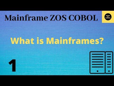 Mainframe Tutorial Part 1