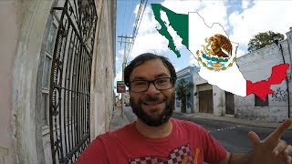 Living in Merida Mexico - Visiting the Local Market in the City Center on a Sunday Afternoon in 4k