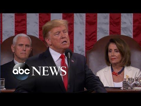 Trump addresses border