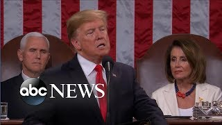 Trump addresses border security at State of the Union