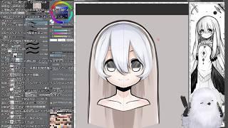 [LIVE] Live2D講座用のロリ神エナガを描きたい配信ヾ(ӦvӦ。)ノ