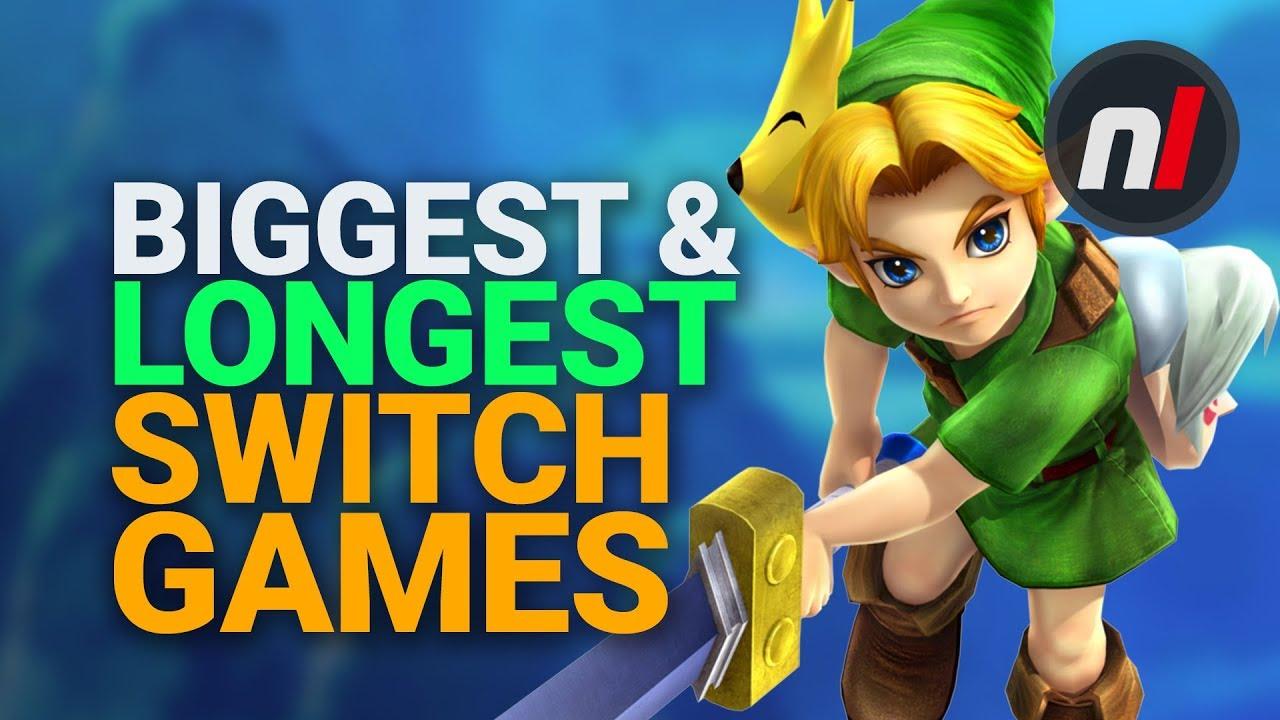 The Biggest & LONGEST Games on Nintendo Switch - Nintendo Life thumbnail