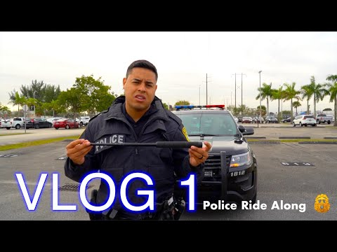 Medley Police VLOG: Day Shift Ride Along | Officer Lagos
