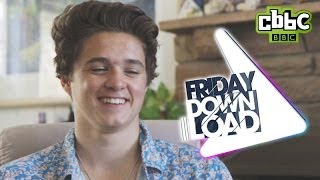 The Vamps Somebody To You - Behind the Scenes - Friday Download - CBBC