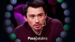 ¡HISTÓRICO! Nicolás Gavilán hizo la metralleta más grande de Pasapalabra