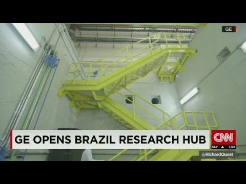 GE opens Brazil research hub