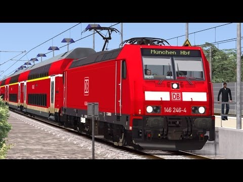 LET`S PLAY TOGETHER Train Simulator 2014 / Mit Rob nach München