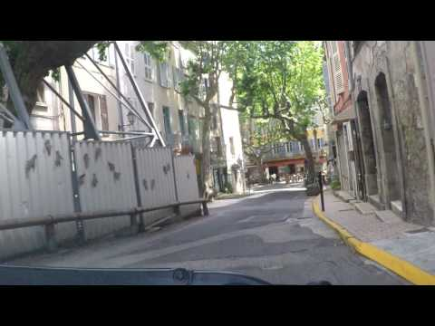 France by Road - Bargemon, Provence by car