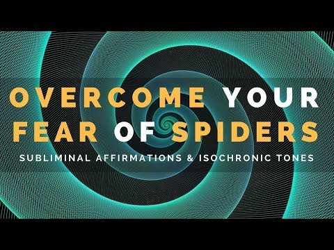 ARACHNOPHOBIA SUBLIMINAL   Train Your Subconscious Mind To Overcome Your Fear of Spiders