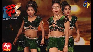 Nainika Performance | Dhee 13 | Kings vs Queens | 27th January 2021 | ETV Telugu