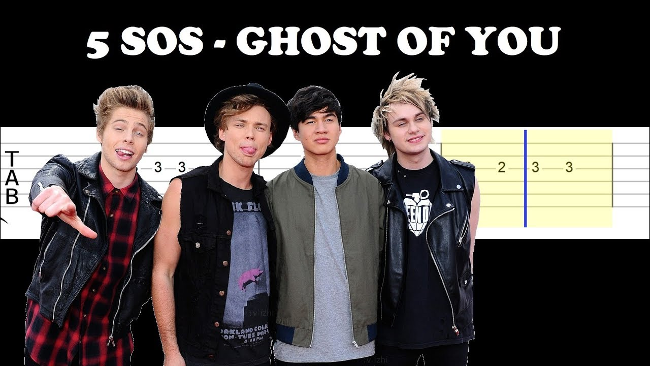 5 Seconds Of Summer - Ghost Of You (Easy Guitar Tabs Tutorial)