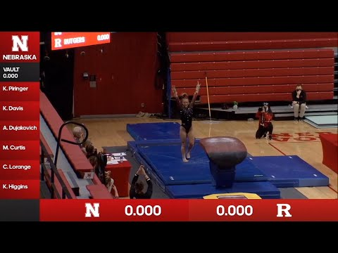 Rutgers at Nebraska | 2-07-21 | NCAA Gymnastics