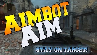 GET Aimbot AIM! Stay On Target in Call of Duty: WW2!