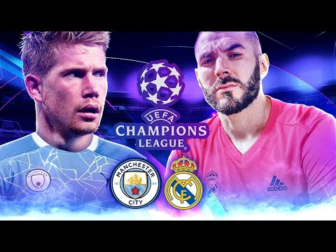 MANCHESTER CITY vs REAL MADRID en DIRECTO !! CHAMPIONS LEAGUE