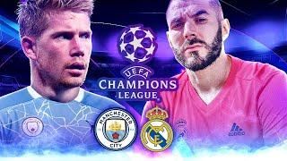 MANCHESTER CITY 2-1 REAL MADRID (UEFA CHAMPIONS LEAGUE)