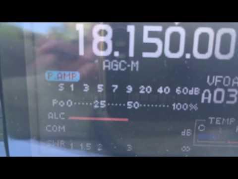 HAM Radio; Portable station M0WAO on Redhill hill, 08/07/2017 Part 3