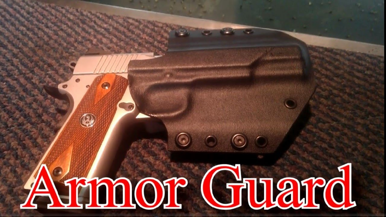 Ruger Sr1911 Armor Guard Holster Youtube
