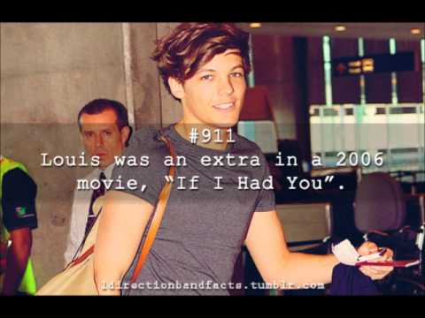 One Direction - Louis Facts