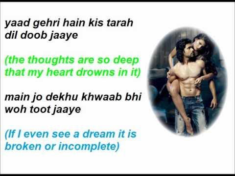 Zahreeli raatein Lyrics (English Translation)