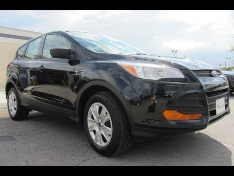 Sold 2013 Ford Escape S 2 5 Tuxedo Black Sync Voice