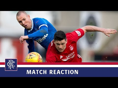 REACTION | Kenny Miller | Aberdeen 1-2 Rangers