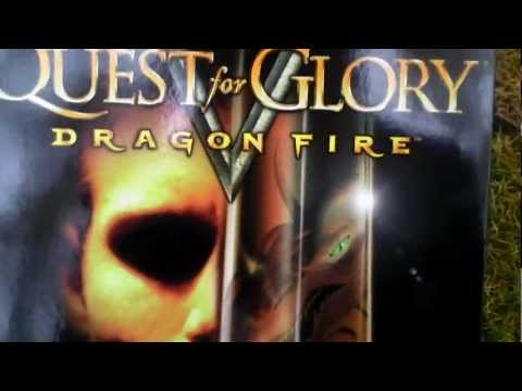 Quest for Glory V Dragon Fire Unboxing (PC/Mac) ENGLISH