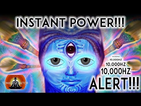10000 Hz |  INSTANT THIRD EYE STIMULATION (WARNING!!!) 100% MOST POWERFUL THIRD EYE BINAURAL BEATS