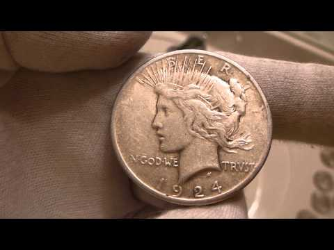 1924 Peace Silver Dollar Coin Review