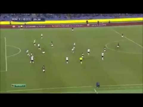Miralem Pjanic played a amaizing pass vs Cesena