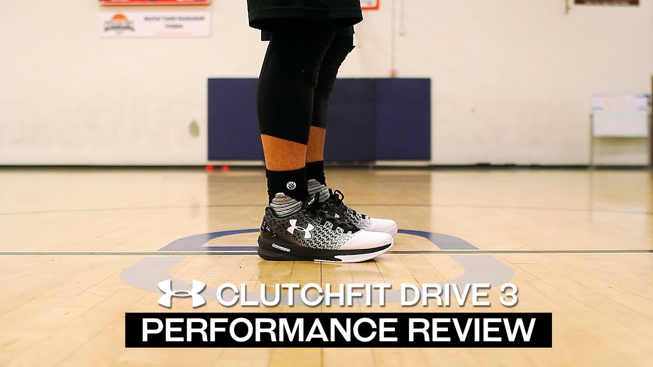 5544b4ec3db4 Under Armour ClutchFit Drive 3 Low - Performance Review - YouTube