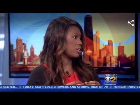 Nekia Nichelle on CBS 2 Chicago Gives Humidity Hair Hacks
