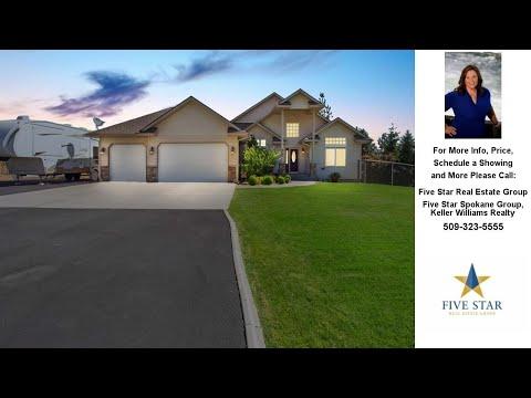 9705 E Grouse Mountain, Spokane, WA Presented by Five Star Real Estate Group.