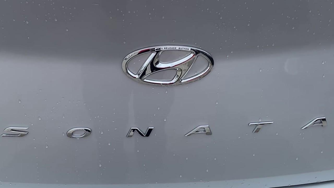 Hidden Trunk Release Button 2019 Hyundai Sonata